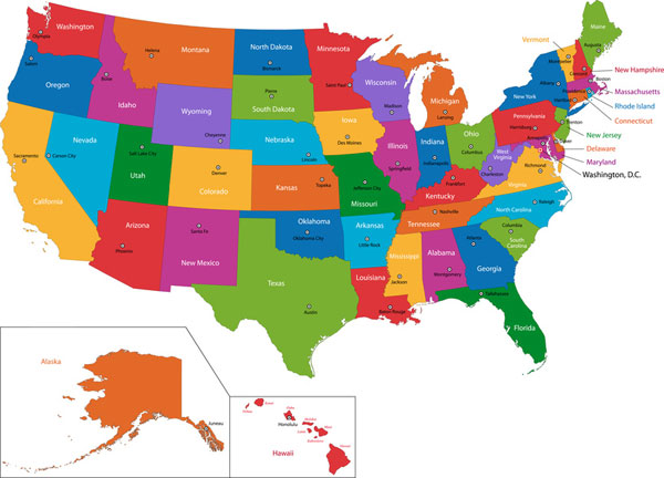 tourist information on United States of America